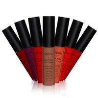 Wholesale 2016 Special Offer Women Fashion Sexy Dark Matte Waterproof Moisturizing Long Lasting Makeup Beauty Lipsticks Lip Gloss for Girl Colors