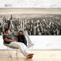 Wholesale Black and White New York City Modern City Home Wall Decor Canvas Picture Art HD Print Oil Painting Canvas Art Unframed