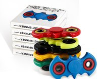 Multicolor abs kid - ABS Bat Toy EDC HandSpinner Fidget Toy Hand SpinnerFor Decompression Anxiety Finger Toys For Killing Time Free DHL