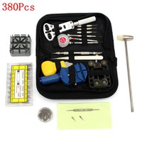 Wholesale New Arrival Watchband Horologe Watch Link Remover Opener Repair Tools Kit Set For Watchmaker Remover Suitcase Toolbox