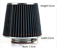 air filter intake - Universal Washable Car Air Cleaner Mushroom Shape High Flow Capacity Air Intake mm Auto Air Filter