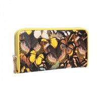 artistic outfits - AITBAGS Leisure Style Print PU Leather Ladies Wallet With leisure style and delicate artistic print this wallet goes well with any outfits