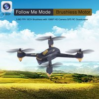 Wholesale Hubsan H501S X4 RC Drone With P HD Camera GPS Follow Me Mode Automatic Return Remote Control Toys G FPV CH Quadcopter