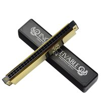 advance performance - Swan hole harmonica C tone polyphony advanced performance luxury golden harmonica