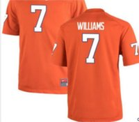 Wholesale Men Replica White Orange Mike Williams Clemson Tigers Alumni Jersey