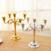 Wholesale High Quality Candle Holder arms arms Candle Stand Wedding Candlestick Candelabra Wedding Centerpiece Decor Crafts