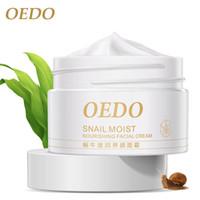 aging facial skin - Snail Moist Nourishing Facial Cream Whitening Moisturizing Day Cream Rre Makeup Acne Treatment Bright Skin Replenishment OEDO g