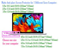 anti glare computer screen - universal inch Matte Anti glare protective film tablet screen protector notebook computer