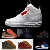 Wholesale High Quality New Lunar Force Duckboot KPU Men Sneaker High Cut Air force One Skateboard Shoes Walking Outdoor Sports Shoes Running Shoes