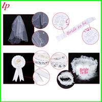 badge image - Best Selling Veils Badge Party Dresses Wedding Shower New Fashion Image White Bridal Veil Romantic Cheap Wedding Party Accessories