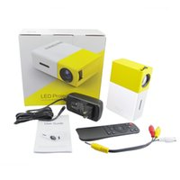 Wholesale Hot Sale YG300 Mini Portable LCD Projector Lumens x Pixels mm Audio Interface Home Theater Media Player