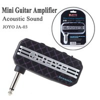 Wholesale Acoustic Sound Mini Guitar Amplifier Amp Pocket Powerful JOYO JA Aux in Jack Play Along With MP3 Player