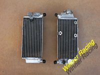 Wholesale Nice quality radiator Hi perf L R mm aluminum alloy radiator For honda CRF250X CRF X Engine cooling system