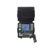 Mini tamaño 12V 1CH 1CH 10A Receptor sin hilos del interruptor teledirigido, 315 / 433.92 MHZ