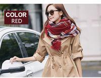 Wholesale 2016 New imitation wool five color plaid scarves shawls