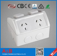 australian outlets - Australian Weatherproof Switched Socket Outlet