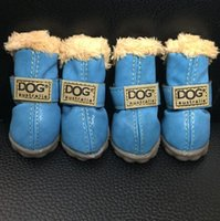 Wholesale Super Warm Pet Small Dog Waterproof Shoes Winter set Dog s Boots Cotton Anti Slip XS XL Shoes for Pet Product