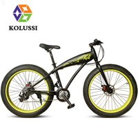 Wholesale KOLUSSI Snow Harley Gear Shift Speed Bike Personality Aluminum Frame Beach Bicycle Vehicles Color Optional