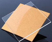 Wholesale 1pcs mm mm mm Transparent Clear Acrylic Plexiglass Safety Glazing Frame Plastic Plate Sheet