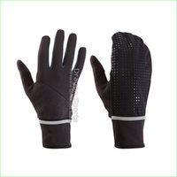 Wholesale Windproof Soft Thin Running Gloves with Cover for Men Women Hiking Fishing Riding