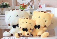 12-15 Years Cats/Mice/Dogs Plush 45CM Lovely Big Face Smiling Cat Stuffed Plush Toys Brinquedos Best Gifts for Kids High Quality