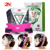 Wholesale 2N D Face Slimming Mask Facial Thin Bandages Belt Face V Line Shaping Item Lifting Firming
