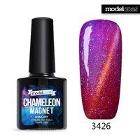Wholesale Modelones ML Chameleon Magnet UV Gel Polish Soak Off Cat Eyes UV Nail Gel Polish Hot Sale Color Gel Nail Polish