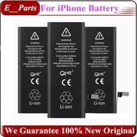 al por mayor iphone original batería interna-100% real completo original nuevo ciclo cero incorporado en la batería interna de reemplazo de litio para el iPhone 4 4s 5 5C 5 5 6 6 6 6 6 7 7 más con caja