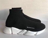 americana fabric - Balenciagas Speed Trainer Black Ballinciaga Knit high Socks Sports Mercurial XI Sneakers New Americana Lyrics Withl Box