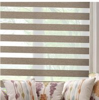 Wholesale sun shading whole blackout zebra blinds