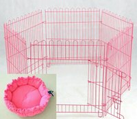 Wholesale dog houses small fold beautiful portable the form of fence high capacity simple practical socialite pragmatic classics