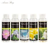 Wholesale 57 Scents ml Reed Diffuser Replenisher Rose Jasmine Lavender Sakura Lemon Ocean Lily Sandalwood Osmanthus etc