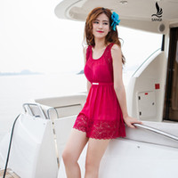 adult swim shows - New style swimsuit South Korean dress swimsuit woman swimming dress in the body of a conservative dress show thin fashion sw