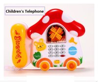 Wholesale Oliver good factory direct no memory electric music light snow mushrooms telephone puzzle early childhood infant and toddler story