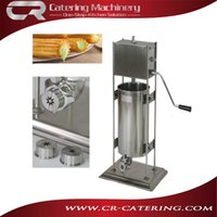 Wholesale Commercial churro machines maker manual type L capacity Spanish snack equipment made of stainless steel without fryer CR CM5M