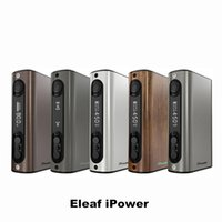 battery springs - Eleaf iPower TC Battery Mod with mAh Built in Battery iPower Mod Max Output W Spring Connector Original