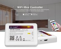 Wholesale Wireless MiLight G Wifi RF Remote Control for RGBW RGB White WW Mixed Color Dimming Mi Light Wifi iBox Controller IOS Android