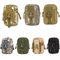 Wholesale Outdoors Practical Tactical Waist Pack Bag Hip Bag Belt Pouch Purse Wallet Phone Bag Mix Colors