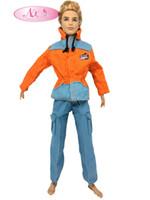 best police uniforms - NK Original Prince Clothes Combat Police Uniform Cop Outfit For Barbie Boy Male Ken Doll For Lanard Soldier Best Gift A