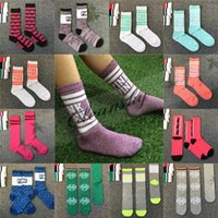 Wholesale Fedex DHL Free Fashion Women Love VS Pink Sports Socks basketball Cheerleaders Stockings letter Socks Z714