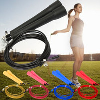 Wholesale wire skipping crossfit Ultra adjustable Speed Cable Jump Ropes steel wire m long adjustable wire rope skipping