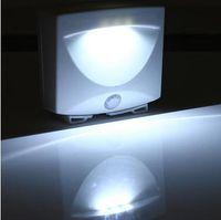 Wholesale Mighty Light LED Motion Sensor Activated Night Light Indoor Outdoor Lamps Sensor Lights Led Outdoor Light LJJC5716