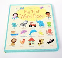 baby board book - 20 pages cm years old famous board book the first English dictionary for baby My first word book