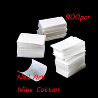Wholesale High quality free epacket pack Nail Art Polish Acrylic Gel Remover Pad Nail Wipes Necessities Nail Cleanning Wipes