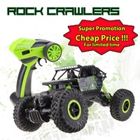 Wholesale RC Car G CH WD Rock Crawlers x4 Driving Car Double Motors Drive Bigfoot Caring Remote Control Cars Model Toy car