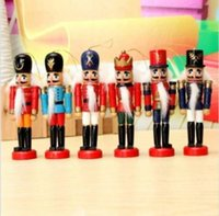 Wholesale Wooden Nutcracker Puppet Decorations Handcraft Gifts Home Display representatives of the rich German history culture