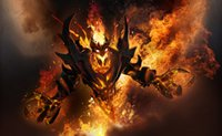 Wholesale dota2 sf treasure burning soul sf treasure Shadow Fiend treasure Nevermore treasure Nevermore Shadow Fiend SF