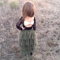 aa classic - Hug Me Baby Girls Lace Tutu Cake Skirts New Summer Cotton Cake Party Skirts AA