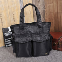 bags urban - 2016 New Japan Yoshida porter shoulder bag waterproof handbag urban leisure package business men tide briefcase