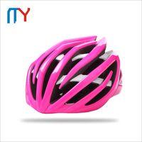 Wholesale New Adult Mens Cycling Helmet One Size MTB Bicycle Helmet Road Riding Helmet With Capacete Ciclismo EPS PC Colors Bike Helmet